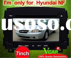7 inch double din car dvd player for Hyundai NF