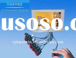 7 inch lcd advertising player with external buttons