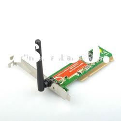 802.11g 54M Wireless Network Lan WIFI PCI Adapter Card