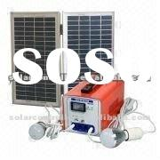 9AH/12W Solar DC generator system for home use