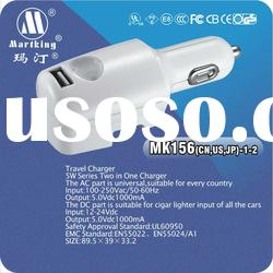 AC-DC 5 W series 2 in 1 charger,UL 5V 1A USB Adapter