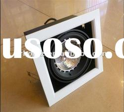 AR111 15W high power led ceiling lamp grid light enbedded ceiling mount