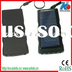 Absolutely new solar charger with 5pcs led flashlight