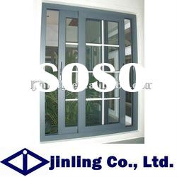 Aluminium sliding window balcony window window grill design
