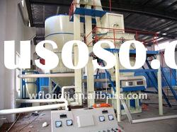 Automatic dry-mixed mortar production line