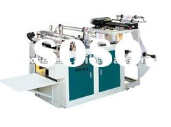 Automatic hi-speed shopping bag making machine