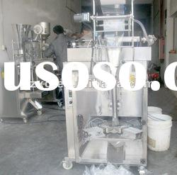 Automatic vertical triangle bag soft drink packing machine