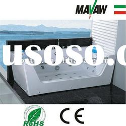 Best Quality Air Bubble Bathtub With Stainless Steel bracket