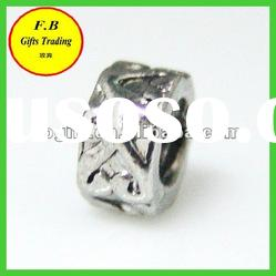Big Hole Metal Jewelry Accessories Spacer Beads (FB-P0227)