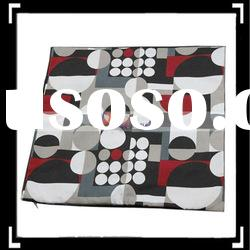 Black Red Soft Throw Pillow Case Cushion Cover