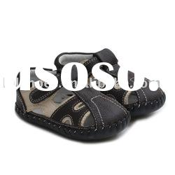 Boy's New Designed Soft Sole Baby Shoes for Christmas Day LBL-BB27006-BR