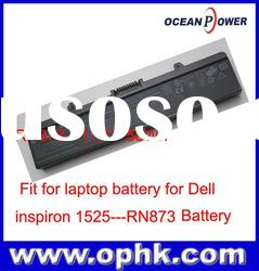 Brand New 100% Genuine Original Laptop Battery for Dell for inspiron 1525 RN873 Battery 11.1V 56Wh