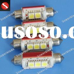 Canbus error free festoon 211 led car lamps 5050-2SMD