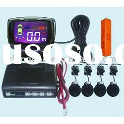 Car parking sensor with LCD display