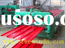 China Steel Roof Panel Cold Roll Forming Machine sheet ironing machine
