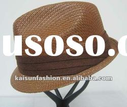 Classic fashion designer straw 2012 hot sale for women hats