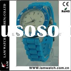 Color fashionable promotional gifts bracelet watch
