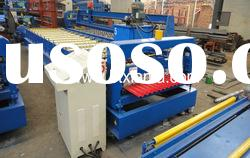 Color steel corrugated roof panel roll forming machine XF1085