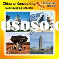 Container shipping from china to Kansas City,KS