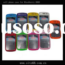 Custom Cell Phone Combo Case for Blackberry 8900