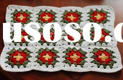 DD03001J Handmade Crochet Table Mat Pad Christmas products
