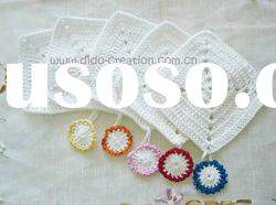 DD03002 Handmade Crochet Table Cup Coaster Mat