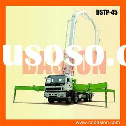 DSTP-45 Concrete Pump Truck with PLC Control for sale in stock