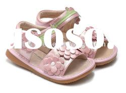 Daisy style girls baby shoes, children shoes SQ-LG65001-PK