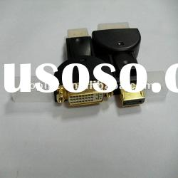 DisplayPort male to DVI 24+5 female cable adaptor