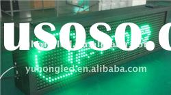 Double Sided 16x64 Pixels display outdoor led moving signs