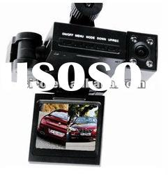 Dual Camera Car Black Box Double Camera H3000 Car DVR with HD 90degrees wide-Angle lens DVR-S906