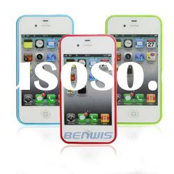 Dual Color Mobilephone Case for iPhone 4/4S Cover Case