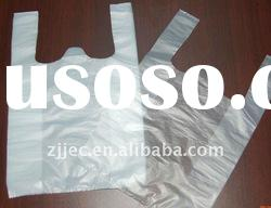 Eco friendly t-shirt bag for supermarket(eco packaging)
