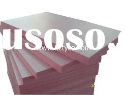 Extruded polystyrene board insulation