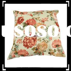 Fashion Colorful Flower Print Pillow case Cushion Cover