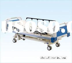 Five-function electric ICU bed