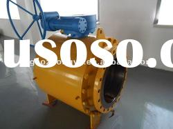 Flanged connection cast steel Ball Valve