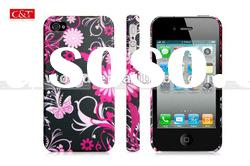 Flowers Pastel Hard Case Back Cover Skin For iPhone 4 4S
