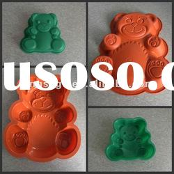 Food grade eco-friendly animal shaped silicone cake mould,silicone baking mould with factory price