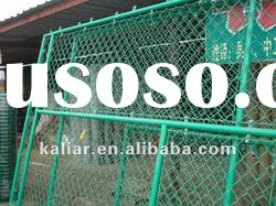 Galvanized cattle chain link wire mesh