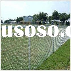 Galvanized chain link wire mesh fence(Factory)