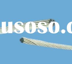 Galvanized steel core strands for bare Aluminum cable