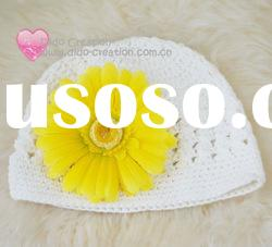 H05C021A Handmade fashion Crochet Baby's knitted Hats Cotton Hat Beanie Cap