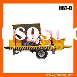 HBT-D-butterfly-valve series Trailer Concrete Pump with competitive price for sale in stock