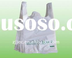 HDPE Recyclable T-shirt Plastic Shopping bag