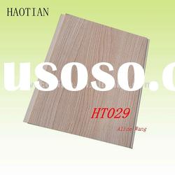 HT029 20cm x 6mm Wood Color PVC Ceiling Panel