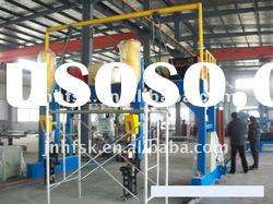 H beam steel welding machine, H beam steel assembling line