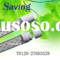 High power led tube lamp(energy saving lamps)(T8120-276DA3528)