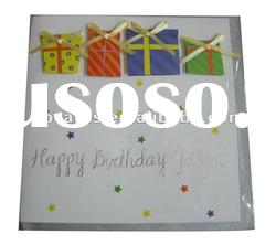 High quality 3D greeting card