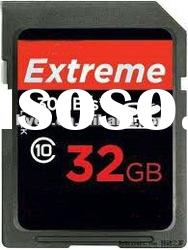 High quality class 10 SD card, Memory card, SDHC sd card, Flash memory card